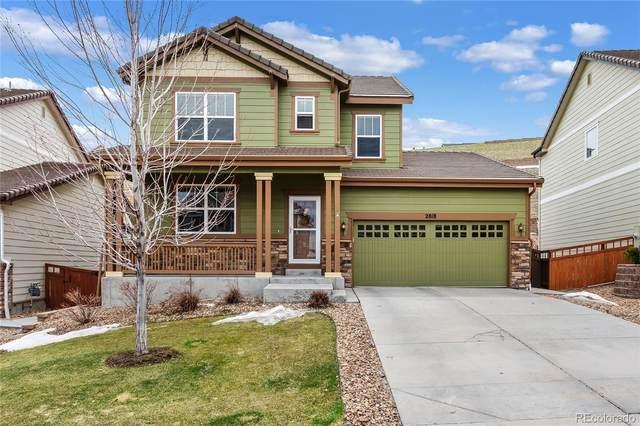 2818 Deerfoot Way, Castle Rock, CO 80109 (MLS #1669016) :: Kittle Real Estate