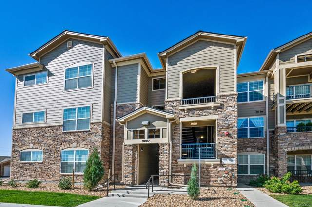 9227 Rolling Way #102, Parker, CO 80134 (#1672218) :: The DeGrood Team
