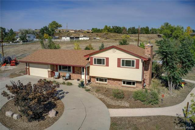 13361 W 78th Avenue, Arvada, CO 80005 (MLS #1672420) :: Kittle Real Estate