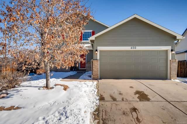 650 Whispering Oak Drive, Castle Rock, CO 80104 (MLS #1673363) :: 8z Real Estate