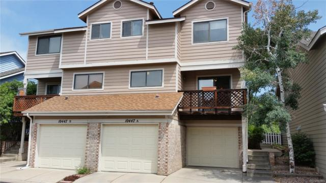 10447 W 83rd Avenue A, Arvada, CO 80005 (#1673803) :: The Peak Properties Group