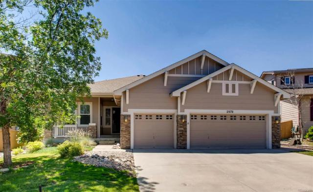 2570 Pemberly Avenue, Highlands Ranch, CO 80126 (#1674744) :: The Peak Properties Group