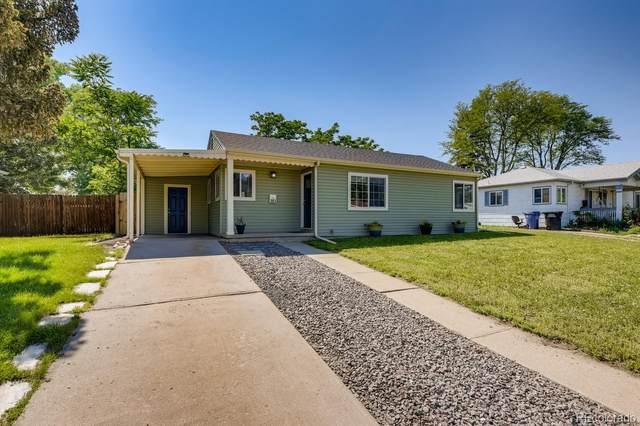 981 S Canosa Court, Denver, CO 80219 (MLS #1676168) :: The Sam Biller Home Team