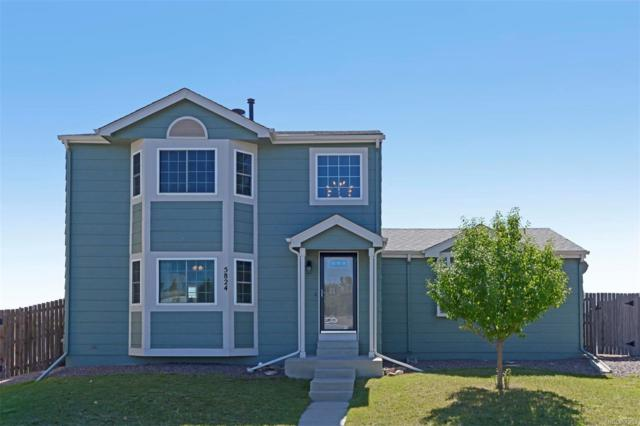 5824 Whitechapel Street, Castle Rock, CO 80104 (#1676534) :: The Peak Properties Group