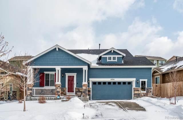 6354 S Harvest Street, Aurora, CO 80016 (#1678637) :: The HomeSmiths Team - Keller Williams