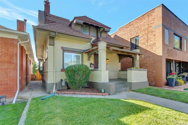 381 N Corona Street, Denver, CO 80218 (MLS #1681555) :: 8z Real Estate