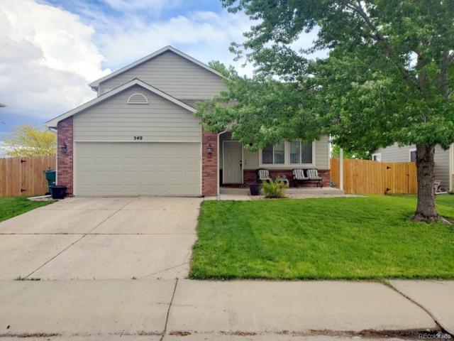 540 S Rachel Avenue, Milliken, CO 80543 (MLS #1688766) :: 8z Real Estate