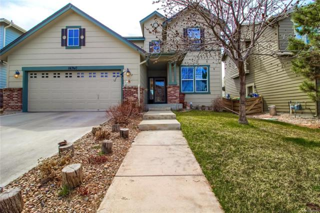16760 E E 104th Place, Commerce City, CO 80022 (#1691772) :: The Peak Properties Group