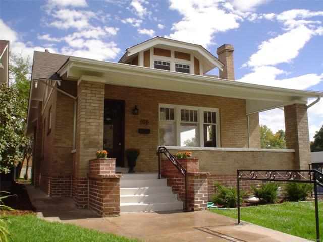 600 Clayton Street, Denver, CO 80206 (#1693265) :: Thrive Real Estate Group