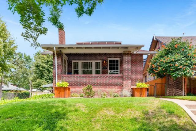 400 S Corona Street, Denver, CO 80209 (#1694609) :: The Pete Cook Home Group