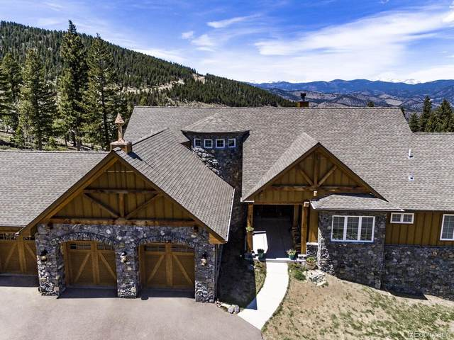 151 Outpost Lane, Evergreen, CO 80439 (#1694946) :: Briggs American Properties