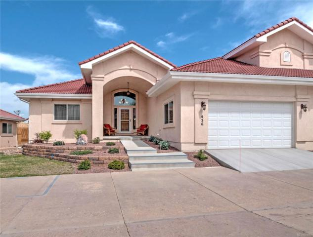 436 Twilight Mountain View, Colorado Springs, CO 80921 (#1695707) :: The Griffith Home Team
