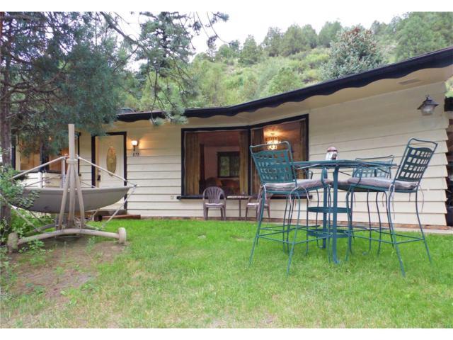 878 Colorado Highway 103, Idaho Springs, CO 80452 (MLS #1695821) :: 8z Real Estate