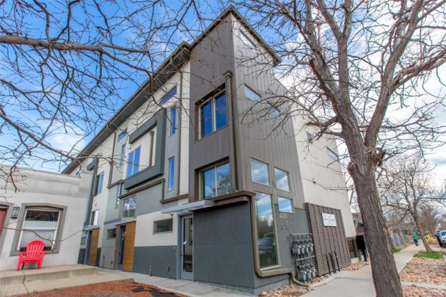 4030 Tejon Street #105, Denver, CO 80211 (#1699073) :: The Peak Properties Group