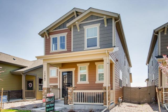 15862 E Warner Drive, Denver, CO 80239 (#1703210) :: Real Estate Professionals