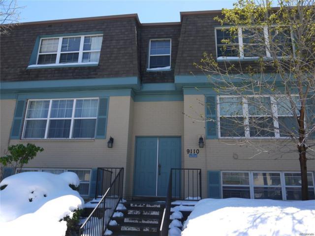 9110 E Girard Avenue #1, Denver, CO 80231 (#1710294) :: The Dixon Group