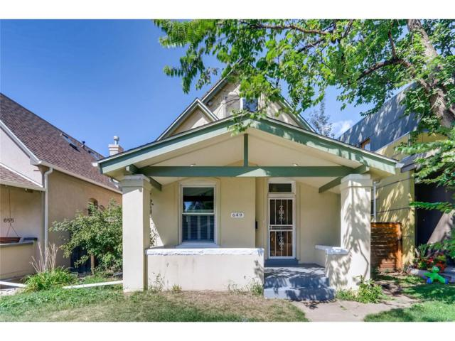 649 S Pennsylvania Street, Denver, CO 80209 (#1711028) :: Thrive Real Estate Group