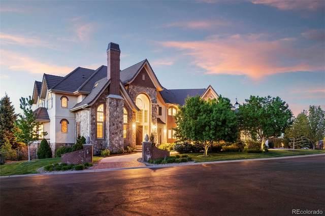 5787 Amber Ridge Drive, Castle Pines, CO 80108 (#1714766) :: Stephanie Fryncko   Keller Williams Integrity