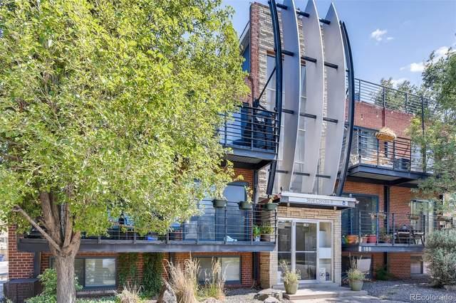 188 S Logan Street #208, Denver, CO 80209 (#1715950) :: James Crocker Team
