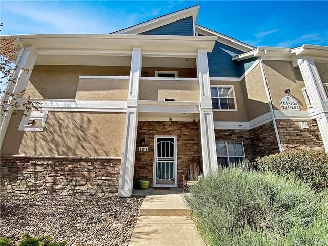 8200 E 8th Avenue #5104, Denver, CO 80230 (#1717344) :: The Griffith Home Team