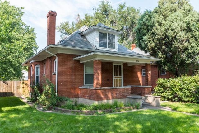 985 S Emerson Street, Denver, CO 80209 (#1717739) :: The HomeSmiths Team - Keller Williams