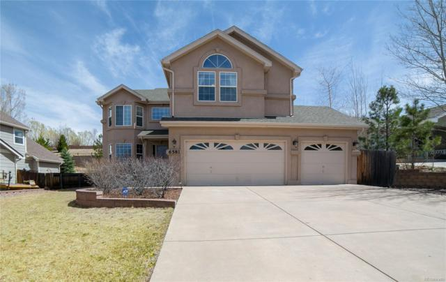 6581 Oasis Butte Drive, Colorado Springs, CO 80923 (#1717903) :: The Peak Properties Group
