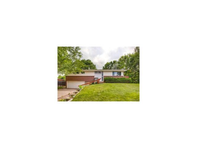 6616 W Leawood Drive, Littleton, CO 80123 (MLS #1718039) :: 8z Real Estate