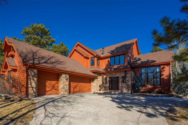 2290 Hiwan Drive, Evergreen, CO 80439 (#1721879) :: 5281 Exclusive Homes Realty