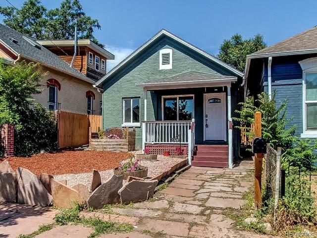 1349 Lipan Street, Denver, CO 80204 (MLS #1723907) :: Kittle Real Estate