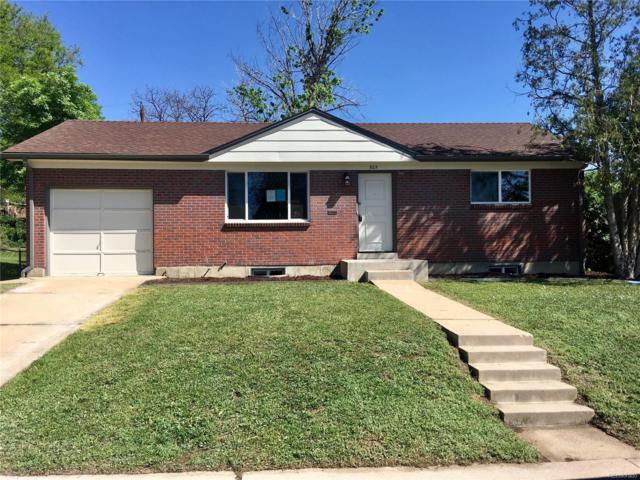 925 Malley Drive, Northglenn, CO 80233 (#1729989) :: The Heyl Group at Keller Williams