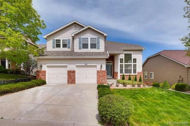 781 Deer Clover Circle, Castle Pines, CO 80108 (#1732503) :: Bicker Realty