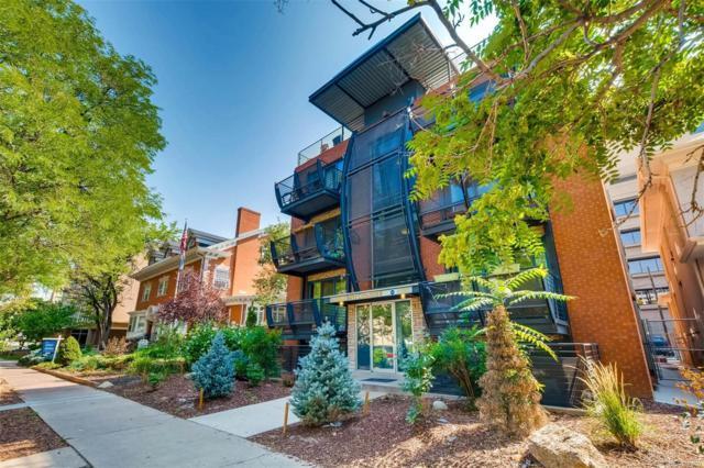 1336 N Logan Street #203, Denver, CO 80203 (#1732564) :: Bring Home Denver
