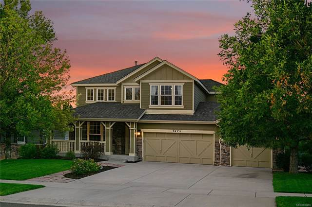 24531 E Frost Drive, Aurora, CO 80016 (#1736862) :: The DeGrood Team
