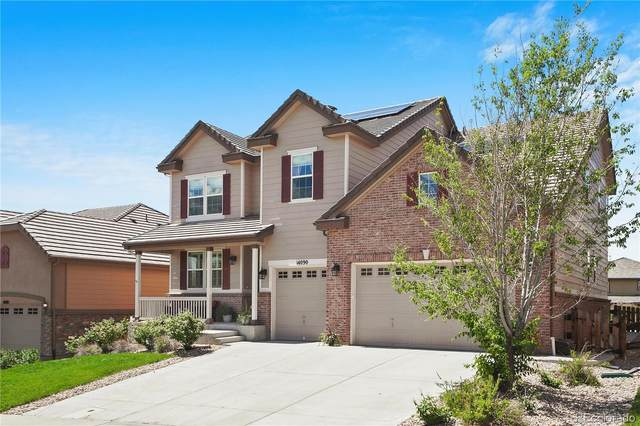 14090 Sierra Ridge Circle, Parker, CO 80134 (#1736865) :: The Margolis Team