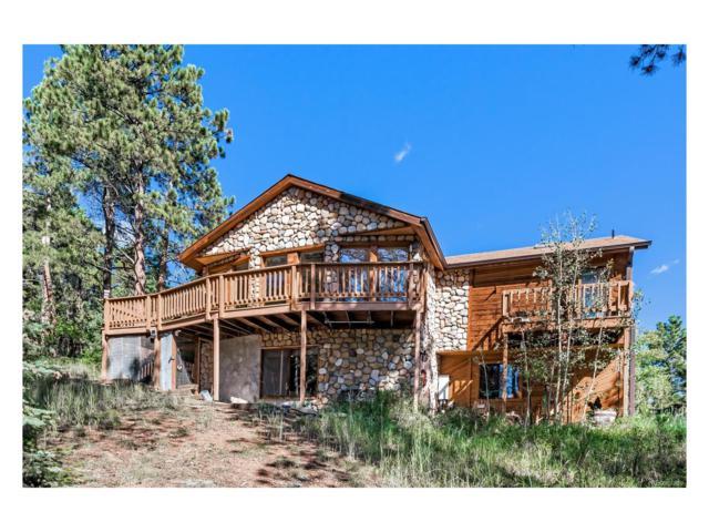11055 Cordingly Road, Conifer, CO 80433 (MLS #1741238) :: 8z Real Estate
