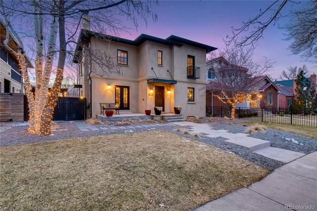 1045 S Elizabeth Street, Denver, CO 80209 (#1742237) :: milehimodern