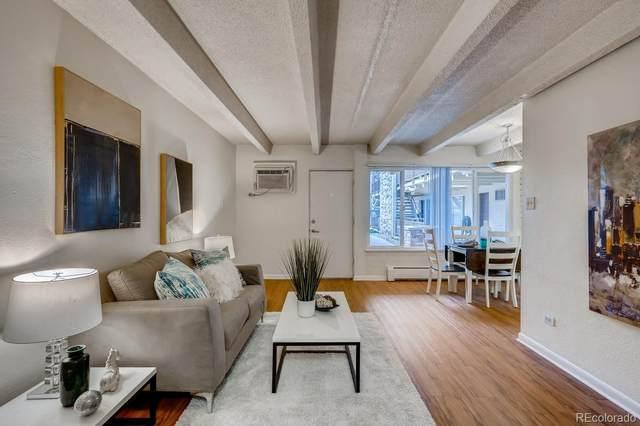 250 Pearl Street #105, Denver, CO 80203 (#1742943) :: Venterra Real Estate LLC