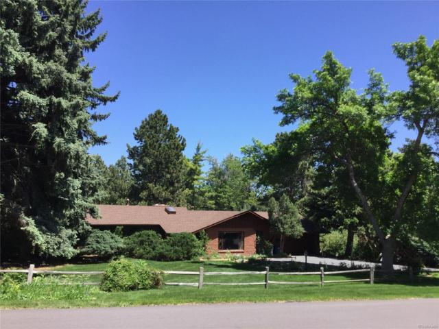 4777 W Wagontrail Road, Littleton, CO 80123 (MLS #1743124) :: 8z Real Estate