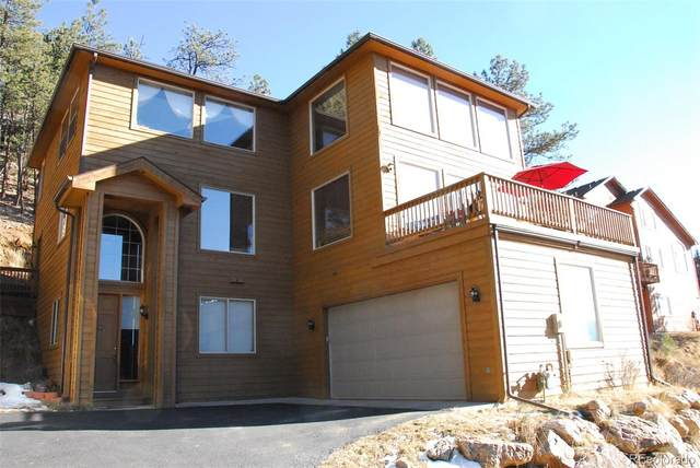 3106 Buttercup Lane, Evergreen, CO 80439 (#1748947) :: The Gilbert Group