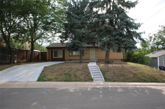 211 S Vrain Street, Denver, CO 80219 (#1750454) :: The Pete Cook Home Group