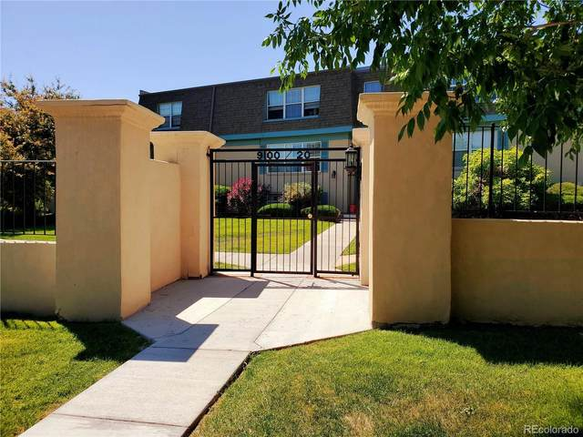 9100 E Girard Avenue #12, Denver, CO 80231 (#1750896) :: The Heyl Group at Keller Williams