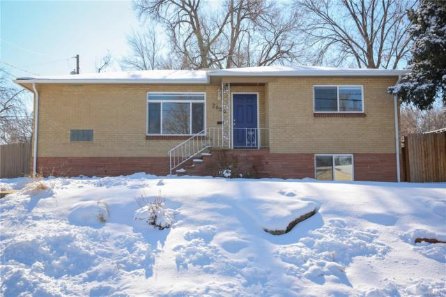 2800 W Mexico Avenue, Denver, CO 80219 (MLS #1752357) :: Bliss Realty Group