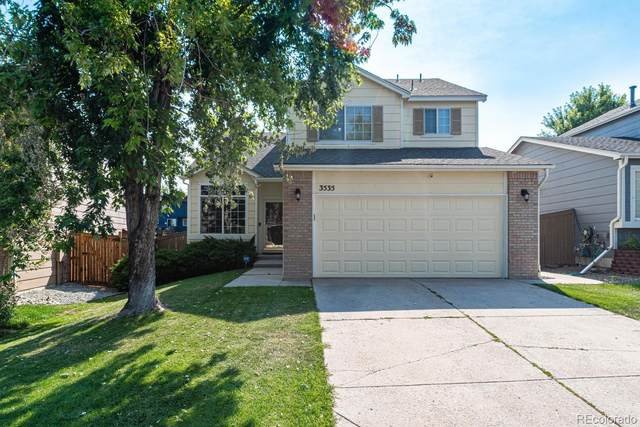 3535 Morning Glory Drive, Castle Rock, CO 80109 (#1752984) :: Peak Properties Group