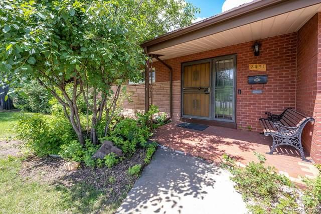 2451 S Ivanhoe Place, Denver, CO 80222 (MLS #1756166) :: Find Colorado
