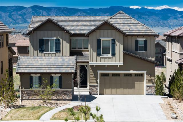 10695 Timberdash Avenue, Highlands Ranch, CO 80126 (#1760403) :: The Pete Cook Home Group