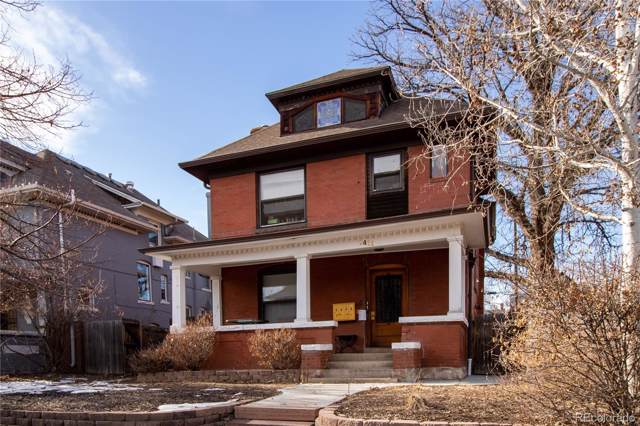 1411 Clayton Street, Denver, CO 80206 (#1761494) :: The Griffith Home Team