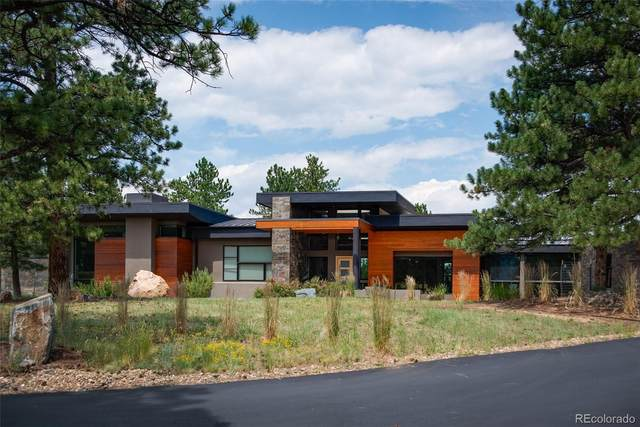 2888 Highlands View Road, Evergreen, CO 80439 (#1762516) :: The HomeSmiths Team - Keller Williams