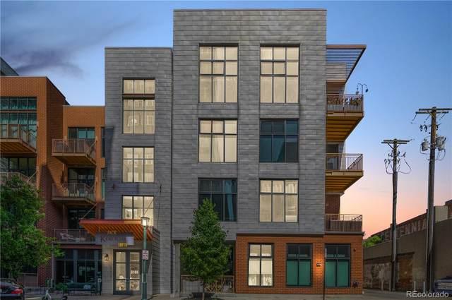 3100 Huron Street 4F, Denver, CO 80202 (MLS #1771372) :: Bliss Realty Group