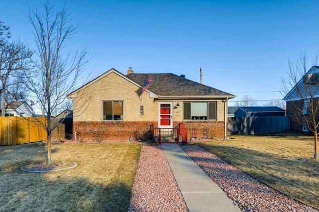 460 S Decatur Street, Denver, CO 80219 (#1774081) :: Hometrackr Denver
