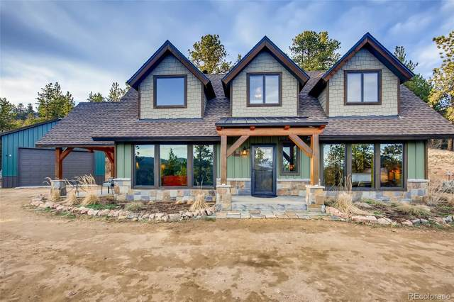31363 Evans View Lane, Pine, CO 80470 (#1774445) :: The Colorado Foothills Team | Berkshire Hathaway Elevated Living Real Estate